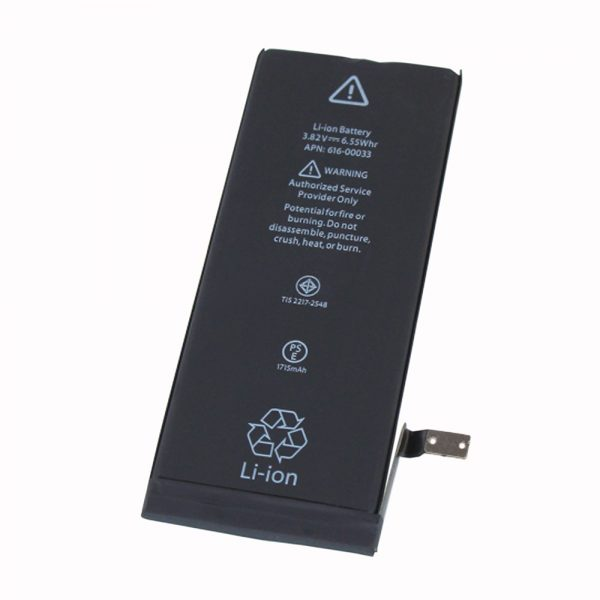 Batterie d'origine 616-00036 pour iphone 6s