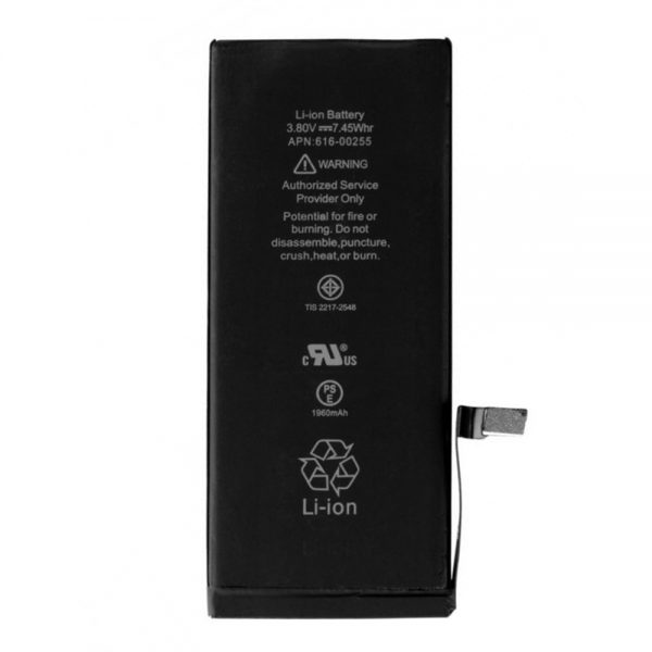 Batterie d'origine 616-00255 pour iphone 7
